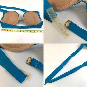 Victoria's Secret Swim - Victorias Secret Bikini Top 34B Bombshell Blue